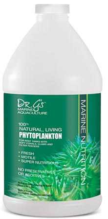 100% Natural, Living Phytoplankton